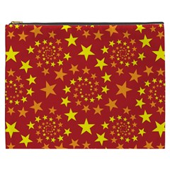 Star Stars Pattern Design Cosmetic Bag (xxxl)  by Nexatart
