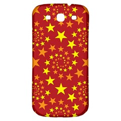 Star Stars Pattern Design Samsung Galaxy S3 S Iii Classic Hardshell Back Case by Nexatart