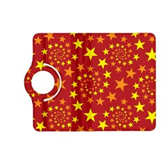 Star Stars Pattern Design Kindle Fire Hd (2013) Flip 360 Case by Nexatart