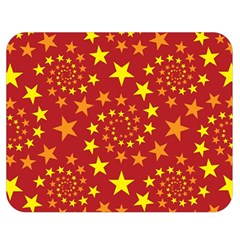 Star Stars Pattern Design Double Sided Flano Blanket (medium)  by Nexatart