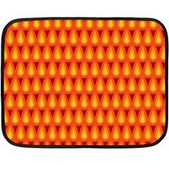 Simple Minimal Flame Background Double Sided Fleece Blanket (mini)  by Nexatart