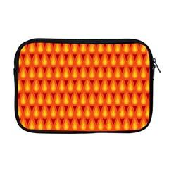Simple Minimal Flame Background Apple Macbook Pro 17  Zipper Case by Nexatart