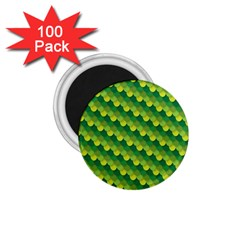 Dragon Scale Scales Pattern 1 75  Magnets (100 Pack)