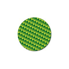 Dragon Scale Scales Pattern Golf Ball Marker (4 Pack)