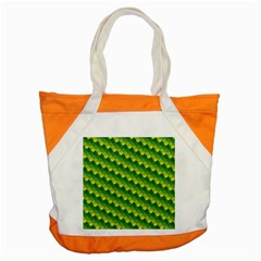 Dragon Scale Scales Pattern Accent Tote Bag by Nexatart