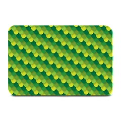 Dragon Scale Scales Pattern Plate Mats