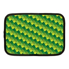 Dragon Scale Scales Pattern Netbook Case (medium)  by Nexatart