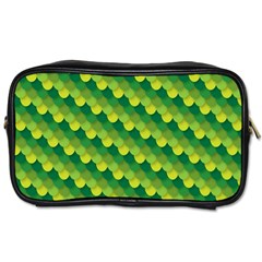 Dragon Scale Scales Pattern Toiletries Bags 2 Side by Nexatart