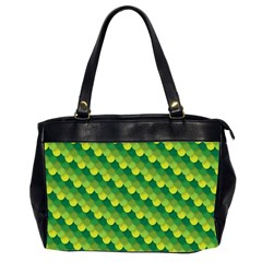 Dragon Scale Scales Pattern Office Handbags (2 Sides)  by Nexatart