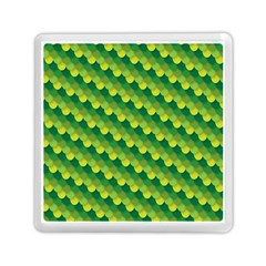 Dragon Scale Scales Pattern Memory Card Reader (square)  by Nexatart