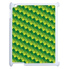 Dragon Scale Scales Pattern Apple Ipad 2 Case (white) by Nexatart