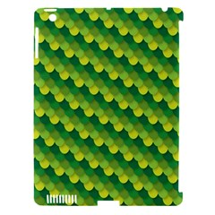 Dragon Scale Scales Pattern Apple Ipad 3/4 Hardshell Case (compatible With Smart Cover) by Nexatart
