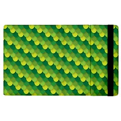 Dragon Scale Scales Pattern Apple Ipad 2 Flip Case