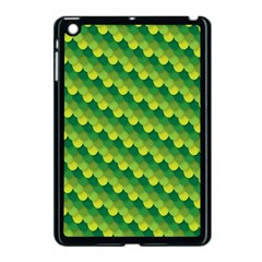 Dragon Scale Scales Pattern Apple Ipad Mini Case (black) by Nexatart