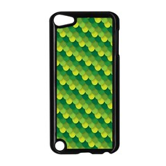 Dragon Scale Scales Pattern Apple Ipod Touch 5 Case (black)