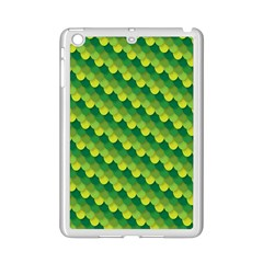 Dragon Scale Scales Pattern Ipad Mini 2 Enamel Coated Cases by Nexatart