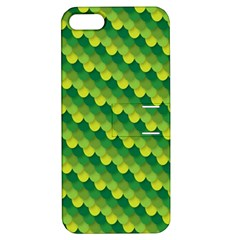 Dragon Scale Scales Pattern Apple Iphone 5 Hardshell Case With Stand by Nexatart