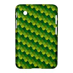 Dragon Scale Scales Pattern Samsung Galaxy Tab 2 (7 ) P3100 Hardshell Case  by Nexatart