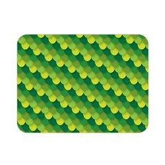 Dragon Scale Scales Pattern Double Sided Flano Blanket (mini)  by Nexatart