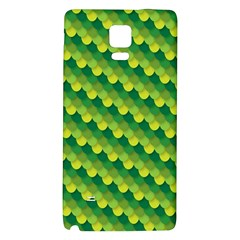 Dragon Scale Scales Pattern Galaxy Note 4 Back Case by Nexatart