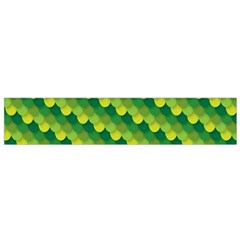 Dragon Scale Scales Pattern Flano Scarf (small) by Nexatart