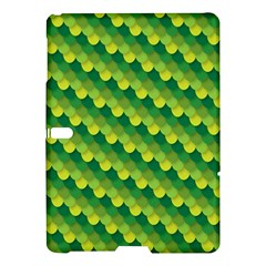 Dragon Scale Scales Pattern Samsung Galaxy Tab S (10 5 ) Hardshell Case  by Nexatart