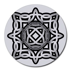 Celtic Draw Drawing Hand Draw Round Mousepads