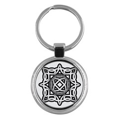 Celtic Draw Drawing Hand Draw Key Chains (round)