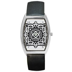 Celtic Draw Drawing Hand Draw Barrel Style Metal Watch