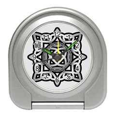 Celtic Draw Drawing Hand Draw Travel Alarm Clocks