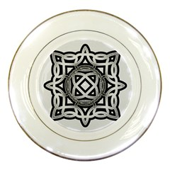Celtic Draw Drawing Hand Draw Porcelain Plates by Nexatart