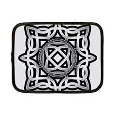 Celtic Draw Drawing Hand Draw Netbook Case (small)  by Nexatart