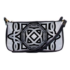 Celtic Draw Drawing Hand Draw Shoulder Clutch Bags by Nexatart