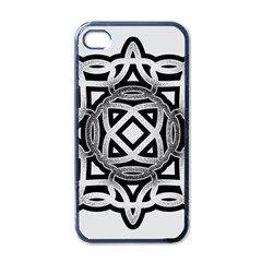 Celtic Draw Drawing Hand Draw Apple Iphone 4 Case (black) by Nexatart
