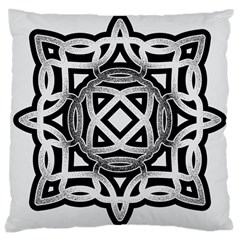 Celtic Draw Drawing Hand Draw Large Cushion Case (two Sides)