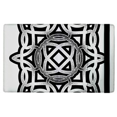 Celtic Draw Drawing Hand Draw Apple Ipad 2 Flip Case by Nexatart