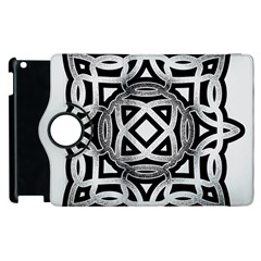 Celtic Draw Drawing Hand Draw Apple Ipad 3/4 Flip 360 Case by Nexatart