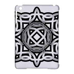 Celtic Draw Drawing Hand Draw Apple Ipad Mini Hardshell Case (compatible With Smart Cover) by Nexatart