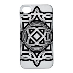 Celtic Draw Drawing Hand Draw Apple Iphone 4/4s Hardshell Case With Stand by Nexatart