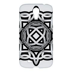 Celtic Draw Drawing Hand Draw Samsung Galaxy S4 I9500/i9505 Hardshell Case
