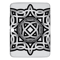 Celtic Draw Drawing Hand Draw Samsung Galaxy Tab 3 (10 1 ) P5200 Hardshell Case  by Nexatart