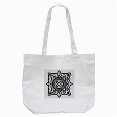 Celtic Draw Drawing Hand Draw Tote Bag (white) by Nexatart