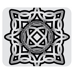 Celtic Draw Drawing Hand Draw Double Sided Flano Blanket (small)  by Nexatart