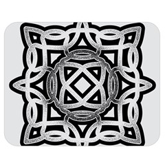Celtic Draw Drawing Hand Draw Double Sided Flano Blanket (medium)  by Nexatart
