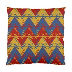 Aztec Traditional Ethnic Pattern Standard Cushion Case (two Sides)