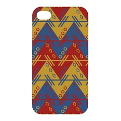 Aztec Traditional Ethnic Pattern Apple Iphone 4/4s Premium Hardshell Case