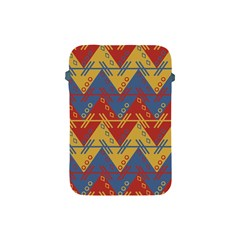 Aztec Traditional Ethnic Pattern Apple Ipad Mini Protective Soft Cases by Nexatart