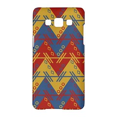 Aztec Traditional Ethnic Pattern Samsung Galaxy A5 Hardshell Case  by Nexatart