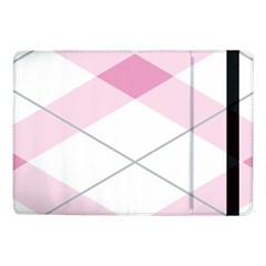 Tablecloth Stripes Diamonds Pink Samsung Galaxy Tab Pro 10 1  Flip Case by Nexatart