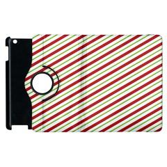 Stripes Striped Design Pattern Apple Ipad 3/4 Flip 360 Case
